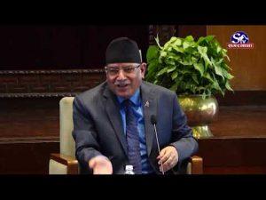 Prachanda and Deuba praised Madhav Nepal