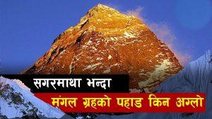 Mount Everest Vs Olympus Mons