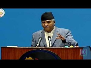 Let's form a government of national consensus if possible – Prime Minister Sher Bahadur Deuba