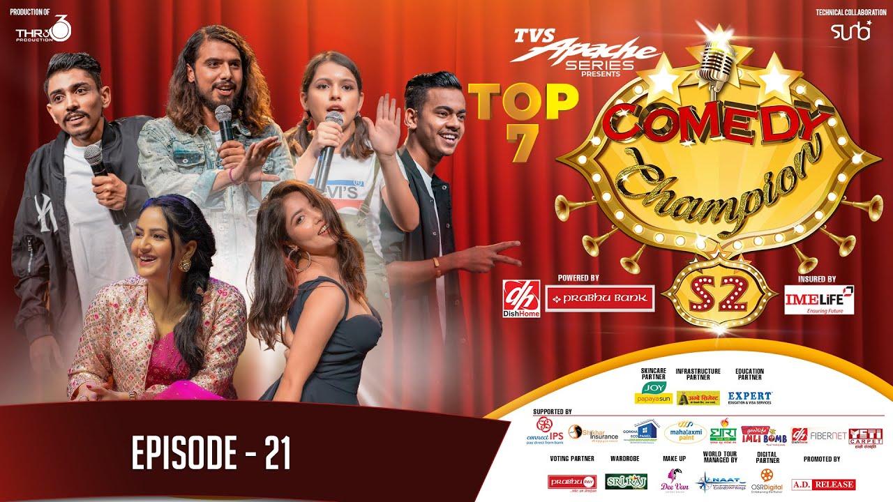 Comedy Champion Season 2 – TOP 7 Episode 21