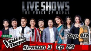 The Voice of Nepal Season 3 – 2021 – Episode 29 (LIVE)
