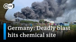 Huge explosion at German chemical complex   DW News