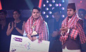 Kiran Gajmer won the title of The Voice of Nepal Season 3