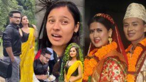 Tiktak Viral Bina and Saroj wedding
