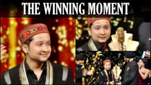 Pawandeep Rajan WINNING MOMENT   Indian Idol 12 GREATEST FINALE Ever