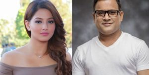 Jitu and Samragyee Rajyalakshmi Shah pair in Kapil film