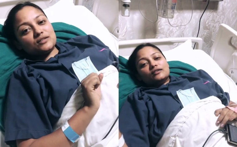 Actress Richa Sharma became a mother